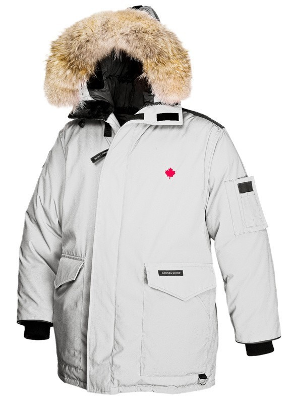 Canada Goose Heli-Arctic Parka Silverbirch Homme